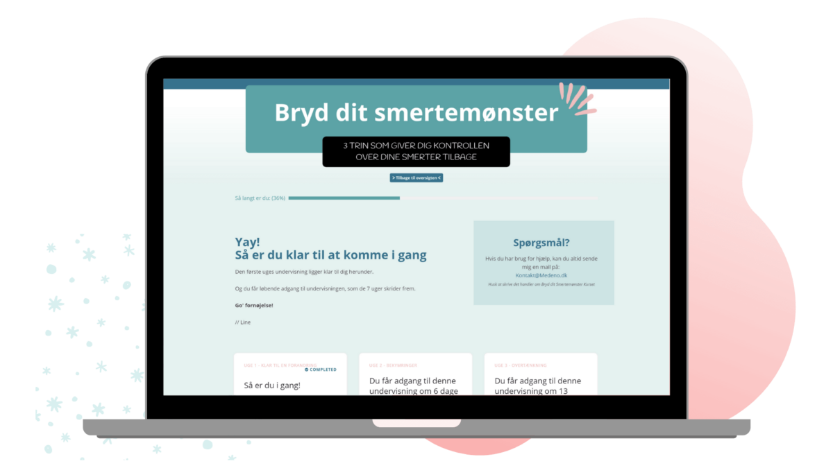 Bryd dit Smertemønster - Computer Mock-up 2