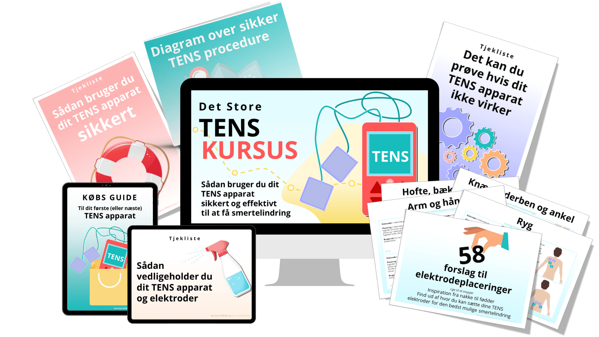 TENS kursus - Mock-Up